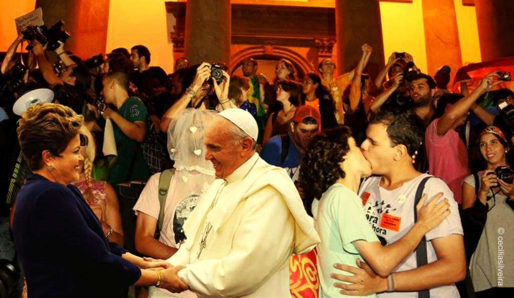 neusa sueli papa francisco brasil